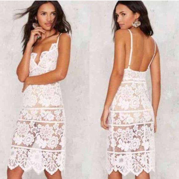d7e8881181 🌟HP🌟NWT For Love   Lemons Gianna Midi Dress
